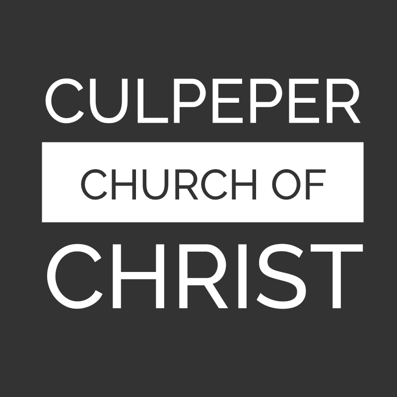 Culpeper church of Christ Website
